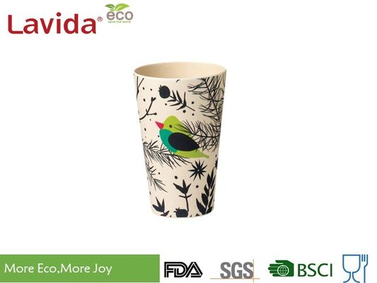 Cina Reusable Bamboo Travel Coffee Mug BPA Gratis Non-Toxic High Temperature Tolerance pemasok
